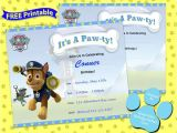 Paw Patrol Birthday Invitations Free Template 63 Best Images About Paw Patrol Party On Pinterest