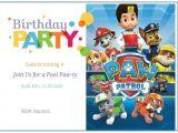 Paw Patrol Birthday Party Invitations Free Free Printable Paw Patrol Birthday Invitation Ideas Free