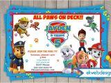 Paw Patrol Birthday Party Invitations Free Paw Patrol Birthday Invitations Nick Jr Custom Invites