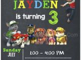 Paw Patrol Birthday Party Invitations Free Paw Patrol Birthday