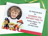 Paw Patrol Invitations Party City Custom Paw Patrol Invite Idea Party City