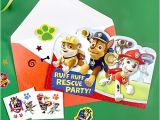 Paw Patrol Invitations Party City Paw Patrol Invitation with Surprise Idea Party City