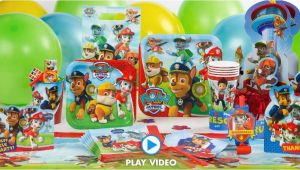 Paw Patrol Invitations Party City Paw Patrol Party Supplies Paw Patrol Birthday Party