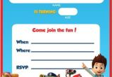 Paw Patrol Party Invitation Template Free Printable Paw Patrol Birthday Invitation Ideas