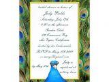 Peacock themed Bridal Shower Invitations Bridal Shower Invitations Zazzle Peacock Bridal Shower