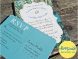 Peacock Wedding Invitation Sets 50 Peacock Wedding Invitation Sets Invite Rsvp and