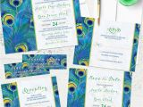 Peacock Wedding Invitation Sets Party Simplicity Peacock Wedding Invitation Sets Party