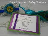 Peacock Wedding Invitation Sets Peacock Wedding Invitation 10 Invitation Sets