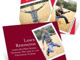 Pear Tree Graduation Invitations Snapshots and Memories Mini Graduation Announcements
