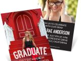 Pear Tree Graduation Invitations the Graduate Mini Graduation Announcements Pear Tree
