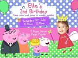 Peppa Pig Birthday Invitations Free Downloads Peppa Pig Birthday Invitation Template Peppa Pig