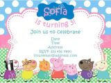 Peppa Pig Birthday Invitations Free Downloads Peppa Pig Birthday Invitations Line