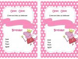 Peppa Pig Birthday Invitations Free Downloads Peppa Pig Birthday Invitations