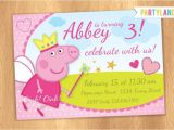 Peppa Pig Birthday Party Invitation Template Free Peppa Pig Birthday Invitations – Gangcraft