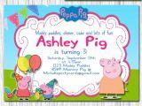 Peppa Pig George Party Invitations Peppa Pig Invitation Peppa Pig Birthday by Michellepartycards