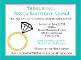 Personal Bridal Shower Invitation Wording 20 Personalized Bridal Shower Invitations Bling Bling