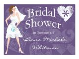 Personal Bridal Shower Invitations Personalized Bridal Shower Invitation Zazzle