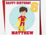 Personalised 1st Birthday Cards for son Personalised Boys Birthday Card son Grandson Nephew Godson