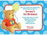 Personalised 1st Birthday Invitations Boy Hugs & Stitches Boy 1st Birthday Personalized Invitation