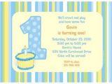 Personalised 1st Birthday Invitations Boy Lil Boy 1st Birthday Personalized Invitation Each