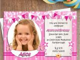 Personalised 1st Birthday Invitations Ebay 10 Personalised Girls Birthday Party Photo Invitations