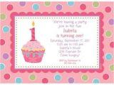 Personalised 1st Birthday Invitations Girl Uk Cupcake 1st Birthday Girl Personalized Invitation Custom