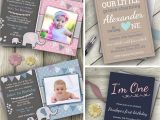 Personalised 1st Birthday Invitations Uk 1st Birthday Personalised Invitations First Party