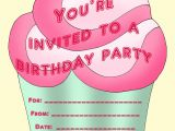 Personalised Birthday Invites Free Printable Personalized Birthday Invitations for Kids