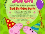 Personalised Peppa Pig Party Invitations 17 Best isla 39 S Birthday Images On Pinterest Birthdays