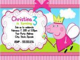 Personalised Peppa Pig Party Invitations Peppa Pig Birthday Party Invitations Personalized Custom