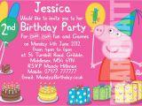 Personalised Peppa Pig Party Invitations Peppa Pig Personalised Party Invitations X 10 Birthday