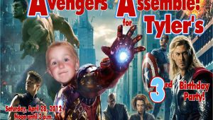 Personalized Avengers Birthday Party Invitations Boy Birthday Welcome to Grand Creations by Meme