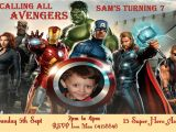 Personalized Avengers Birthday Party Invitations Items Similar to Avengers Birthday Invitation Personalized