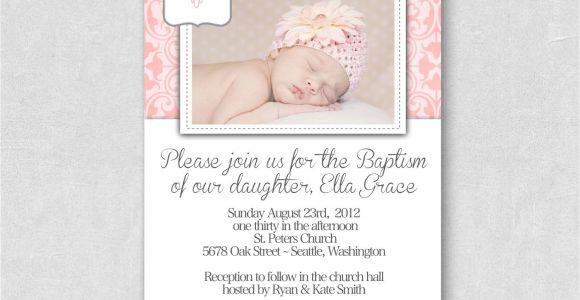 Personalized Baptism Invitation Free Baptism Invitation Free Printable Baptism Invitations