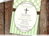 Personalized Baptism Invitations In Spanish Spanish Baptism Invitation Cross Christening Baby Boy