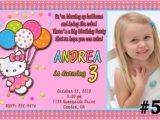 Personalized Birthday Invitations Free Hello Kitty Personalized Birthday Invitations
