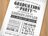 Personalized College Graduation Party Invitations Wip Blog Graduation Party Ideas