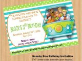 Personalized Scooby Doo Party Invitations 55 Best Scooby Party Images On Pinterest Birthdays