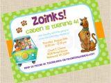Personalized Scooby Doo Party Invitations Gorgeous Personalized Scooby Doo Party Invitations In