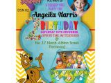 Personalized Scooby Doo Party Invitations Personalized Scooby Do Party Invitations Thank You Cards