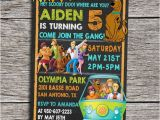 Personalized Scooby Doo Party Invitations Scooby Doo Birthday Party Invitation Digital by