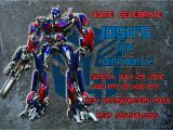 Personalized Transformer Birthday Invitations Personalized Transformers Optimus Prime Birthday