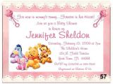Personalized Winnie the Pooh Baby Shower Invitations 20 Baby Winnie the Pooh Baby Shower Invitations