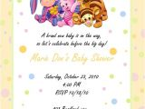 Personalized Winnie the Pooh Baby Shower Invitations Custom Baby Shower Invitation Winnie the Pooh