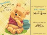 Personalized Winnie the Pooh Baby Shower Invitations Winnie the Pooh Baby Shower Custom Invitations $8 99