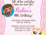Pet Birthday Party Invitations 20 Birthday Invitations Cards Sample Wording Printable