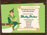 Peter Pan Birthday Invitation Wording Free Peter Pan Birthday Party Invitations Downloadable