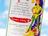 Peter Pan Birthday Invitation Wording Magical Peter Pan Party 4th Birthday Hostess with the