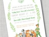 Peter Pan Birthday Invitation Wording Peter Pan and the Lost Boys Invitation Never Growing Up