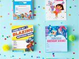 Peter Rabbit Nick Jr Birthday Invitations Nick Jr Printable Birthday Party Invitations
